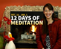 meditation, online event, holiday season, meditation tools, change your energy, ilchi lee books, meditation video