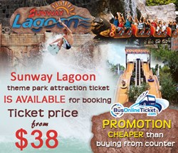Sunway lagoon theme park ticket