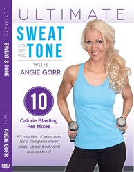 Total Body Intense Workout DVD for calorie burn and fat loss