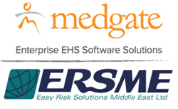 Medgate and ERSME joint logo