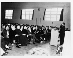 MLK at St. Francis College/UNE