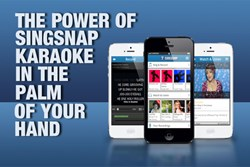 SingSnap Karaoke on iPhone