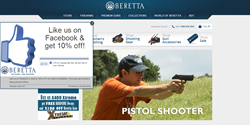 ShopSocially's Get-a-Fan App on Beretta