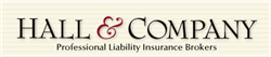 Hall & Company Professional Liability Insurance
