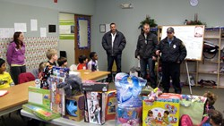 The largest toy drive in Bergen County P.B.A. history has Westwood, New Jersey private school Primoris Academy donate over 50 toys to Westwood Police Department. Toys were purchased using the net proceeds that Primoris Academy students raised by selling h