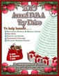 Flyer for the 2013 Annual P.B.A. Toy Drive in Bergen County, New Jersey