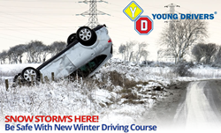 Winter Driving Courses from Young Drivers of Canada