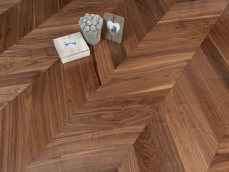 Coswick Hardwood Launches Line Of Chevron Wood Flooring