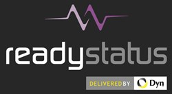 ReadyStatus 'Powered by Dyn' logo