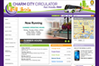 Baltimore Web Designer The Canton Group Develops Charm City Circulator...