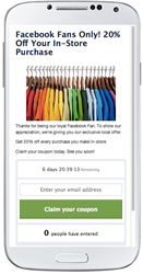 Coupon App Wishpond Social Marketing Suite