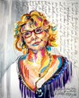 Robbi Firestone Portait Oil Stick