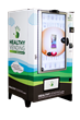 """The HUMAN Touch"" is an innovative 46"" healthy vending touch screen"
