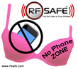 Bra No Phone Zone - Breast Cancer Warning