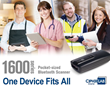 1600 series scanner One Device Fits All