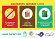 El Cerrito, Richmond, and San Pablo Ban on Single-Use Plastic Effective January 1, 2014