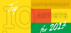 Artist Become Releases Top 10 Contemporary Artists of 2013