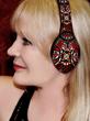 Marta Thoma Hall Wearing Art Skins on vFree