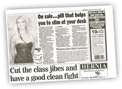 Daily Express features Capsiplex and celebrity fan Britney Spears
