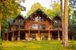 This 4300 sq. ft custom log home on Otsego Lake is offered for $2.1M through Coldwell Banker Timberland Properties. Listing #34431. Call 845-586-3321
