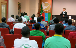 Human rights conference organized by Ogaden Youth and Student Union and Youth for Human Rights November 27, 2013, at the Chapel of the Church of Scientology of Pretoria
