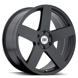 Everest Matte Black Truck Wheels by Black Rhino