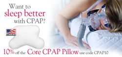 Sleep Better with CPAP Pillow