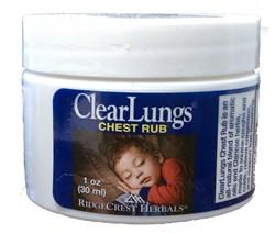 clear lungs chest rub
