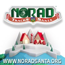 NORAD Tracks Santa Web Graphic