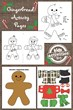 gingerbread activity pages