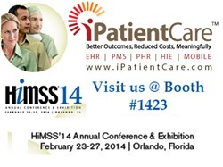 iPatientCare to Unveil Value-Added Servicesat HIMSS14