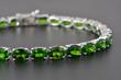 Russian Diopside Bracelet