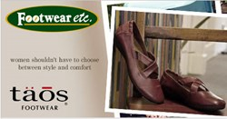 Taos Footwear at Footwear etc.