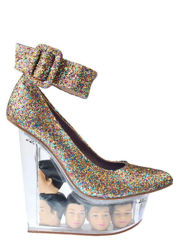 Jeffrey Campbell Doll-Themed Wedges