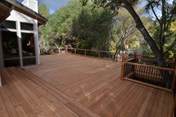 Hardwood Outdoor Deck