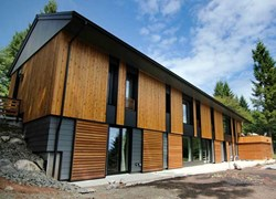 Green building Pumpkin Ridge Passive House