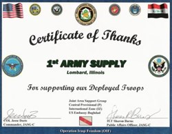 1st Army Military supply store is now offering NTOA approved gear online at https://www.1starmy.com |  Military Supply Store 1st Army Supply Now Selling NTOA Approved Gear