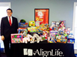 Greenville Area AlignLife Offices Join Together for a Local Toy Drive