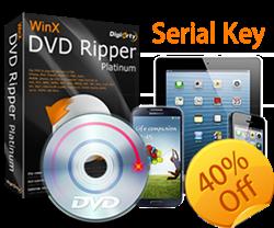 WinX DVD Ripper Platinum Key