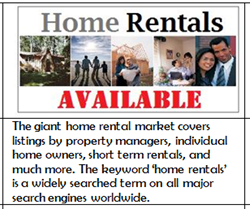 Home Rentals Available Logo