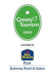Green Tourism Gold awarded to the Best Western Kelowna Hotel