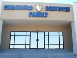 Edinburg Family Dentistry offices