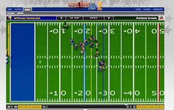 Featuring retro inspired graphics that let you see your players in action.