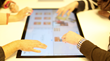 Multiuser active desktop - the division of a touchscreen into multiple sections.