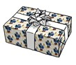 Blue Robot - gift wrap