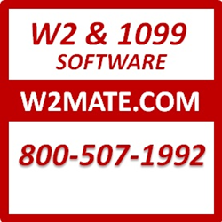 W2 1099 software to print, e-file, PDF and generate tax forms W2, 1099-MISC, 1099-INT, 1099-DIV, 1099-R, W-3, 1096, 1099-S, 1098-T, 1098, 1099-A, 1099-B, 1099-C, 1099-K, 1099-PATR and 1099-OID.