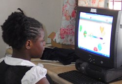 Garland Children's Home using Red Apple Reading