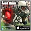 Ted Ginn's Football Game Brings the Action of a Real Kick Return to...