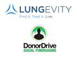 DonorDrive Lungevity Logos