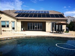 San Diego solar pool heater installed by Jason Stringham of SolarTech